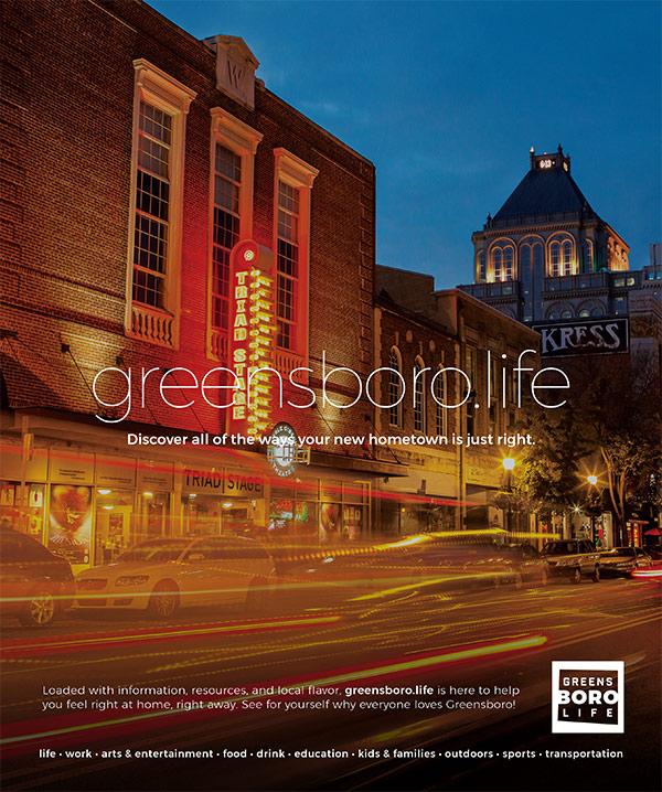Greensboro Life Ad