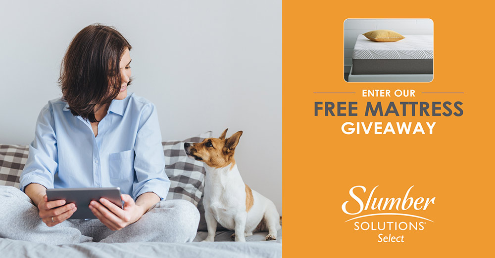 Bluezoom Slumber Solutions Mattress giveaway campaign