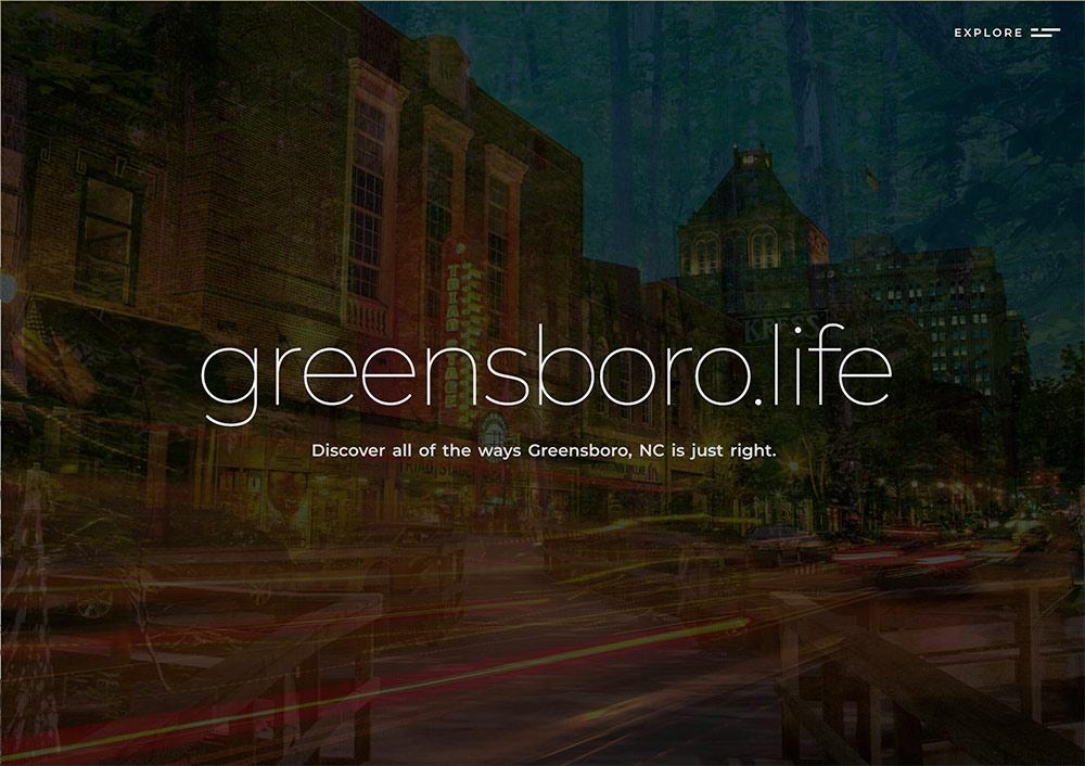 Greensboro Life Website